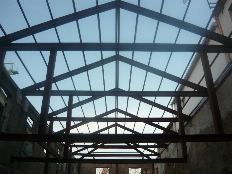 Acira metal damos forma al acero - Estructura de metal ...
